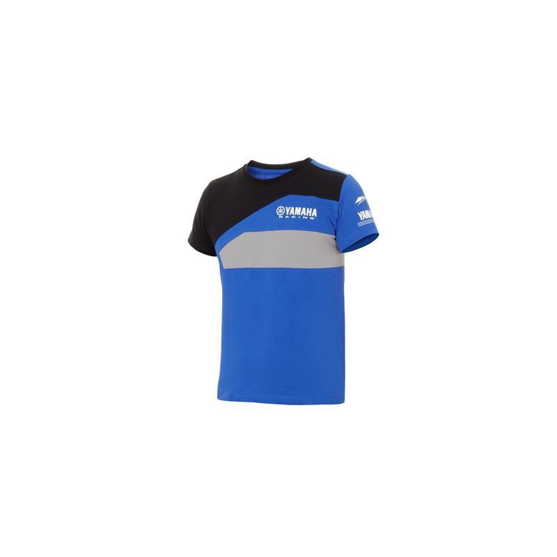 YAMAHA T-shirt enfant Paddock Bleu 2018