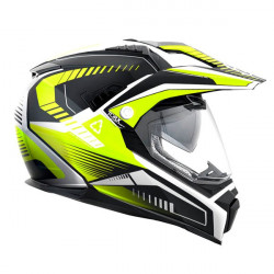 Casque Dundee V Yellow Fluo