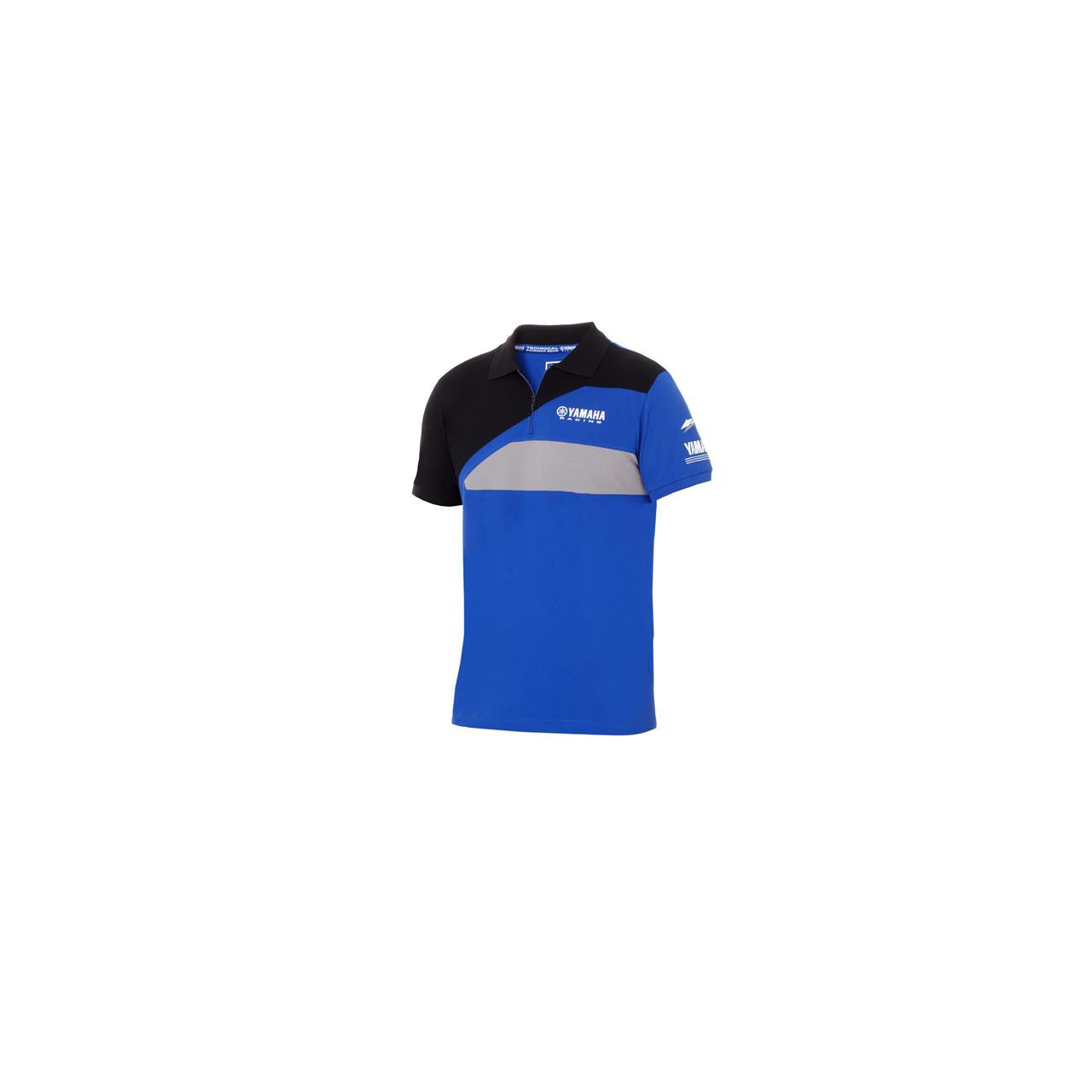 YAMAHA Polo sport homme Paddock Bleu 2018