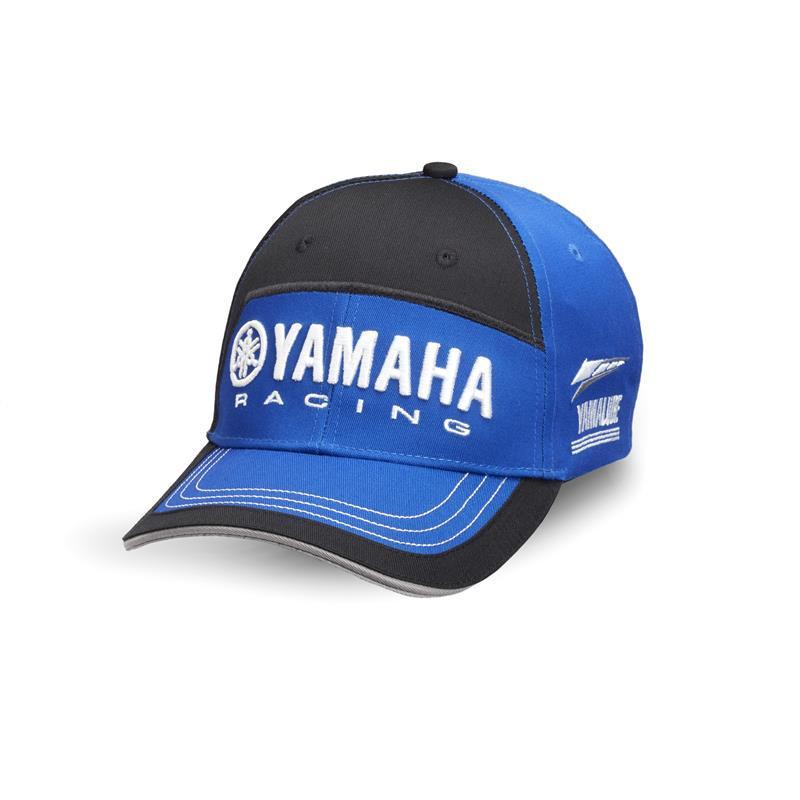 YAMAHA Casquette Paddock Bleu 2018