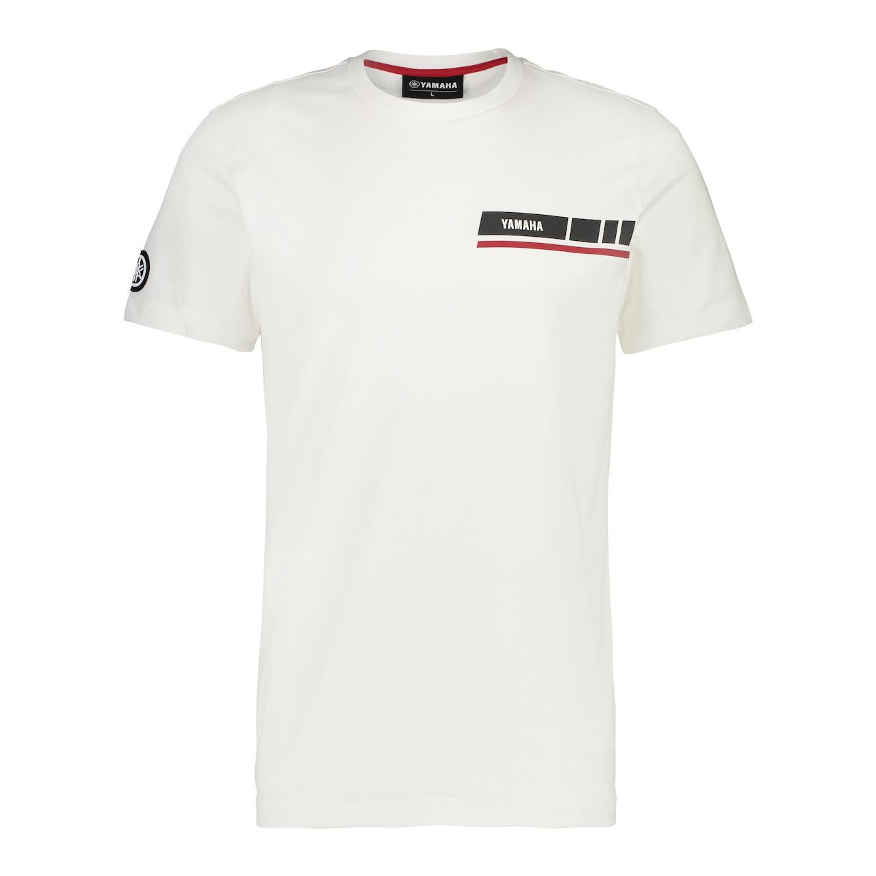 YAMAHA T-shirt homme manches courtes Small Stripe Revs 2019