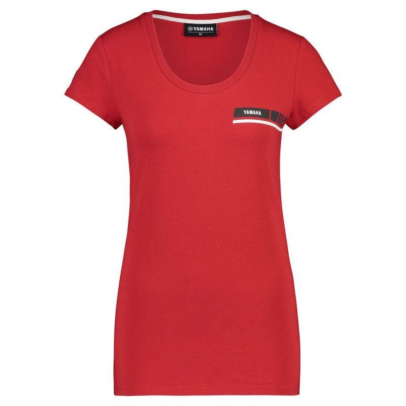 YAMAHA T-shirt femme Stripe Revs 2019
