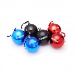Lot de 6 boules de Noël 2019