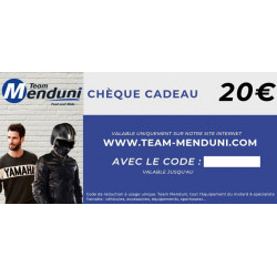 Chèque cadeau Team Menduni