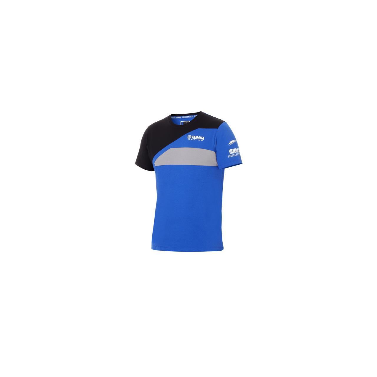 YAMAHA T-shirt Paddock Bleu pour homme 2018