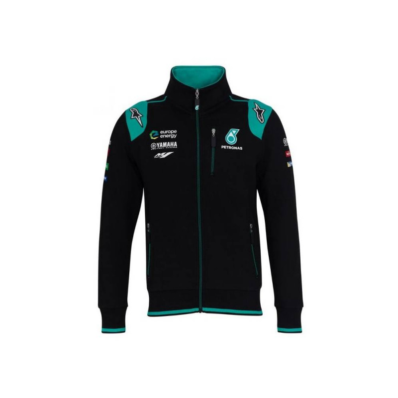 YAMAHA Sweat Zippé homme Petronas 2019