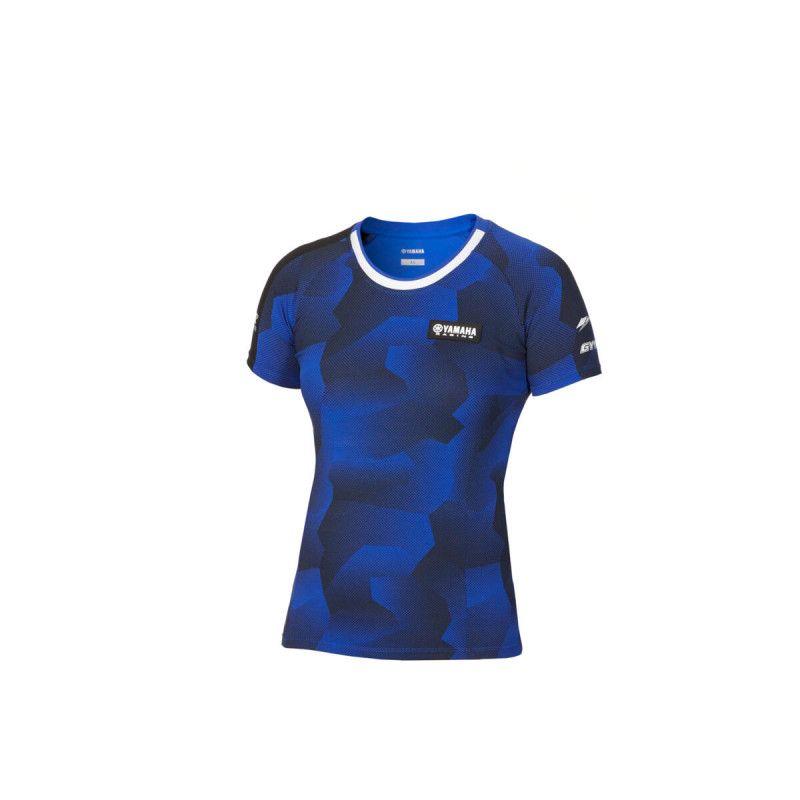 YAMAHA T-shirt femme Manche courtes Camouflage Foggia Paddock 2020