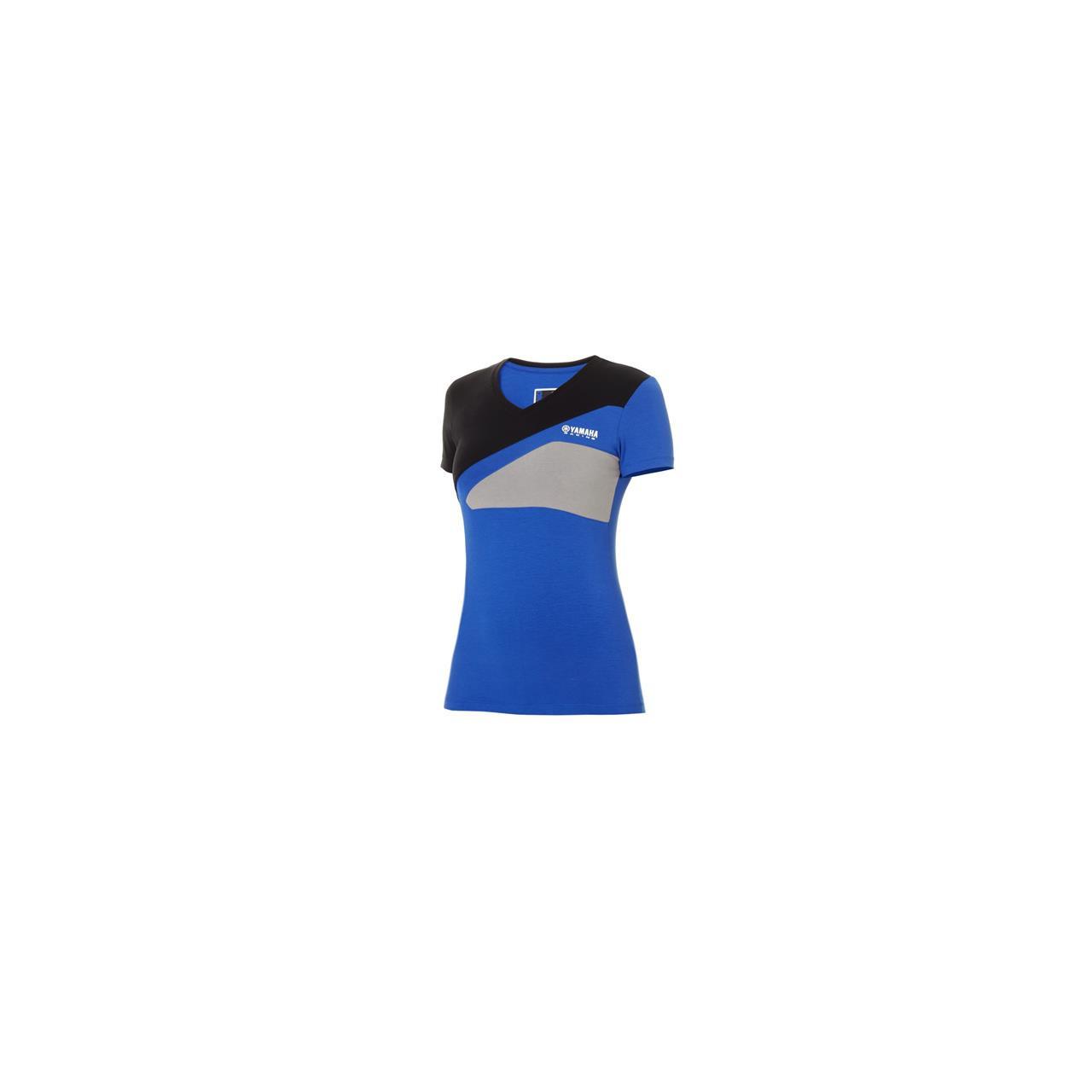 YAMAHA T-shirt Paddock Bleu femme 2018