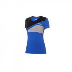 T-shirt Paddock Bleu femme...