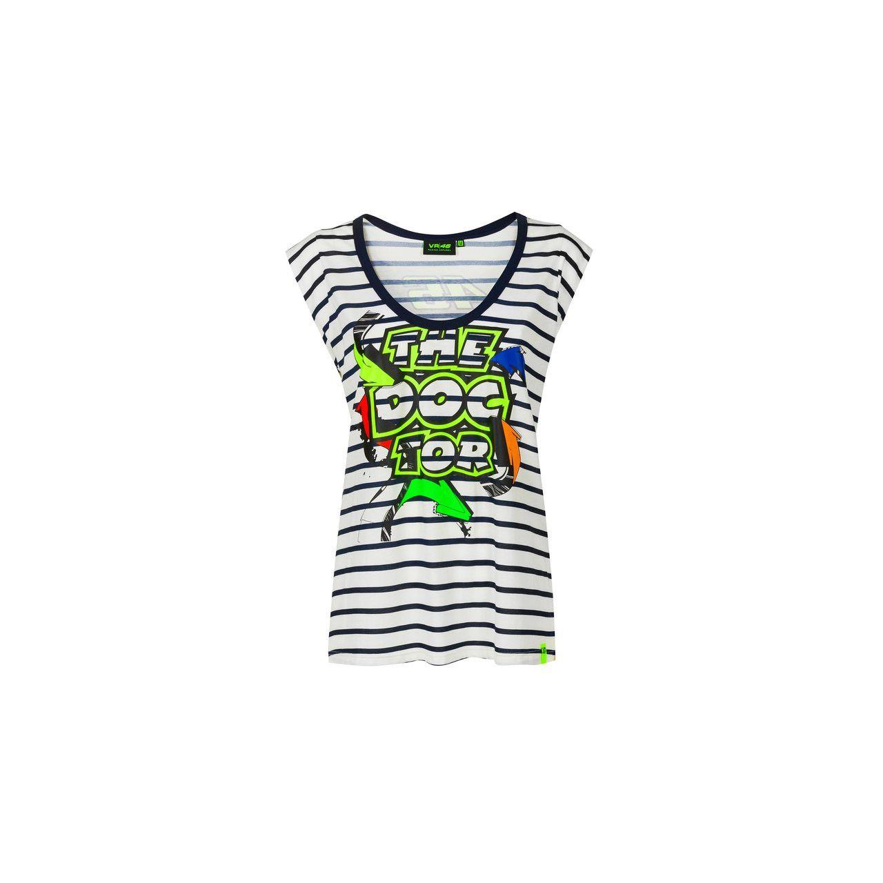 VALENTINO ROSSI T-shirt femme VR46 2020 Street Art