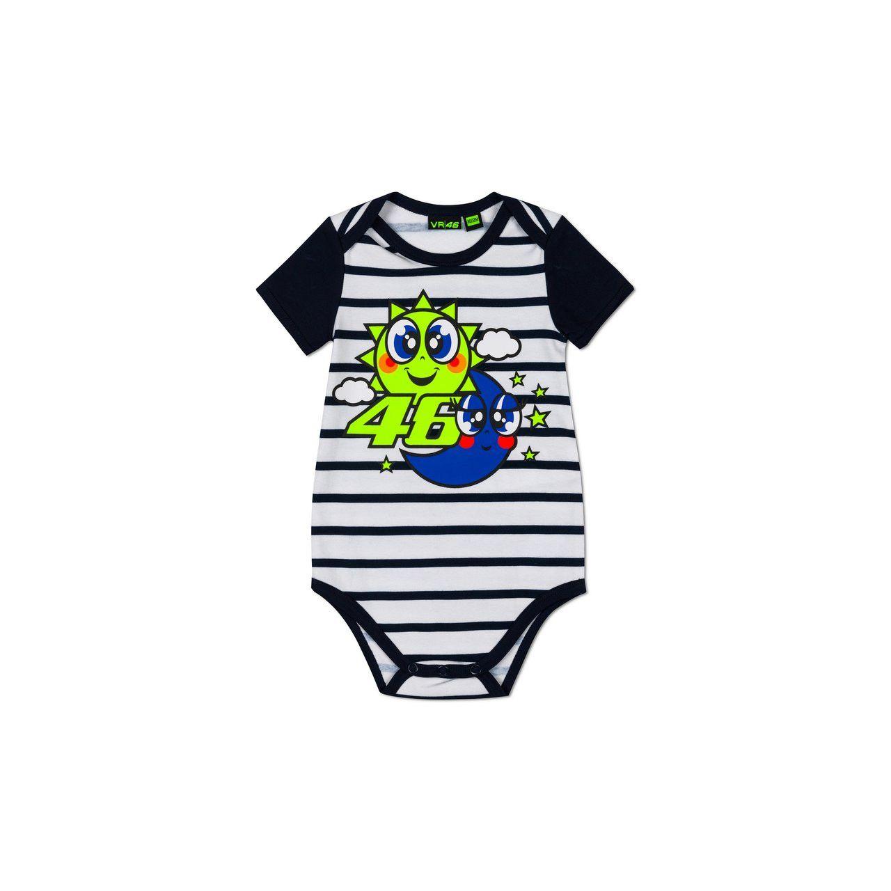 VALENTINO ROSSI Body bébé VR46 2020 Soleil et Lune