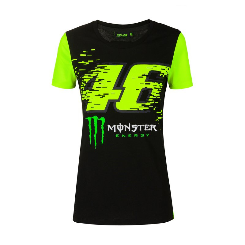 VALENTINO ROSSI T-shirt femme Monster VR46 2020 Monza