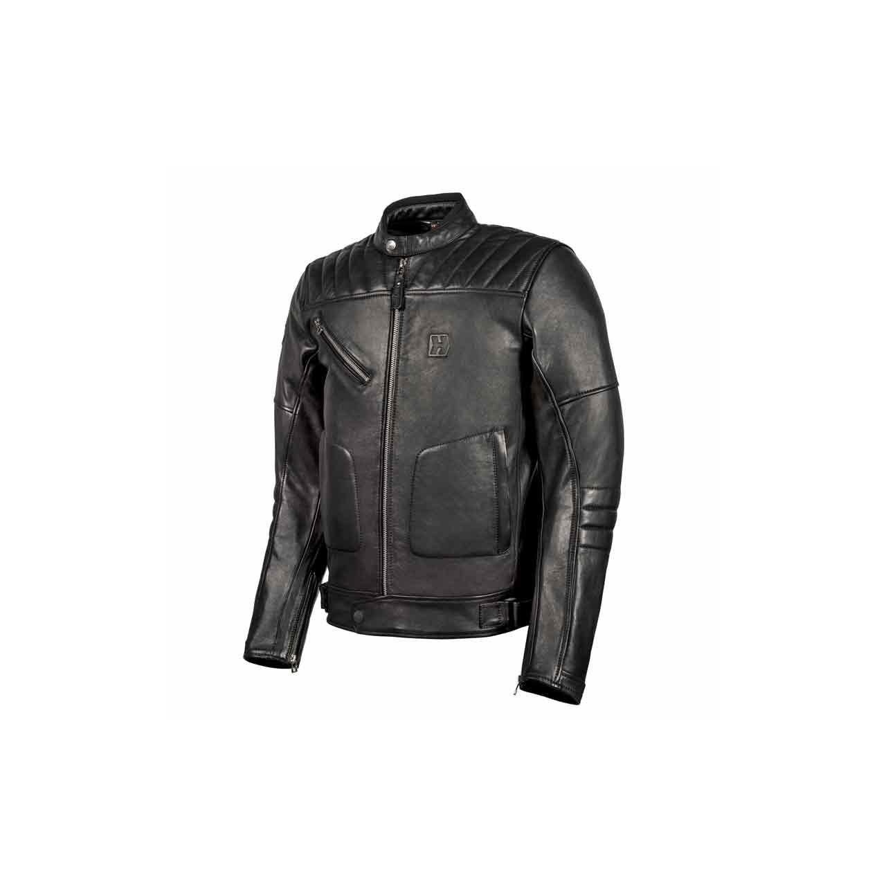 Hevik Blouson moto homme cuir Garage Evo