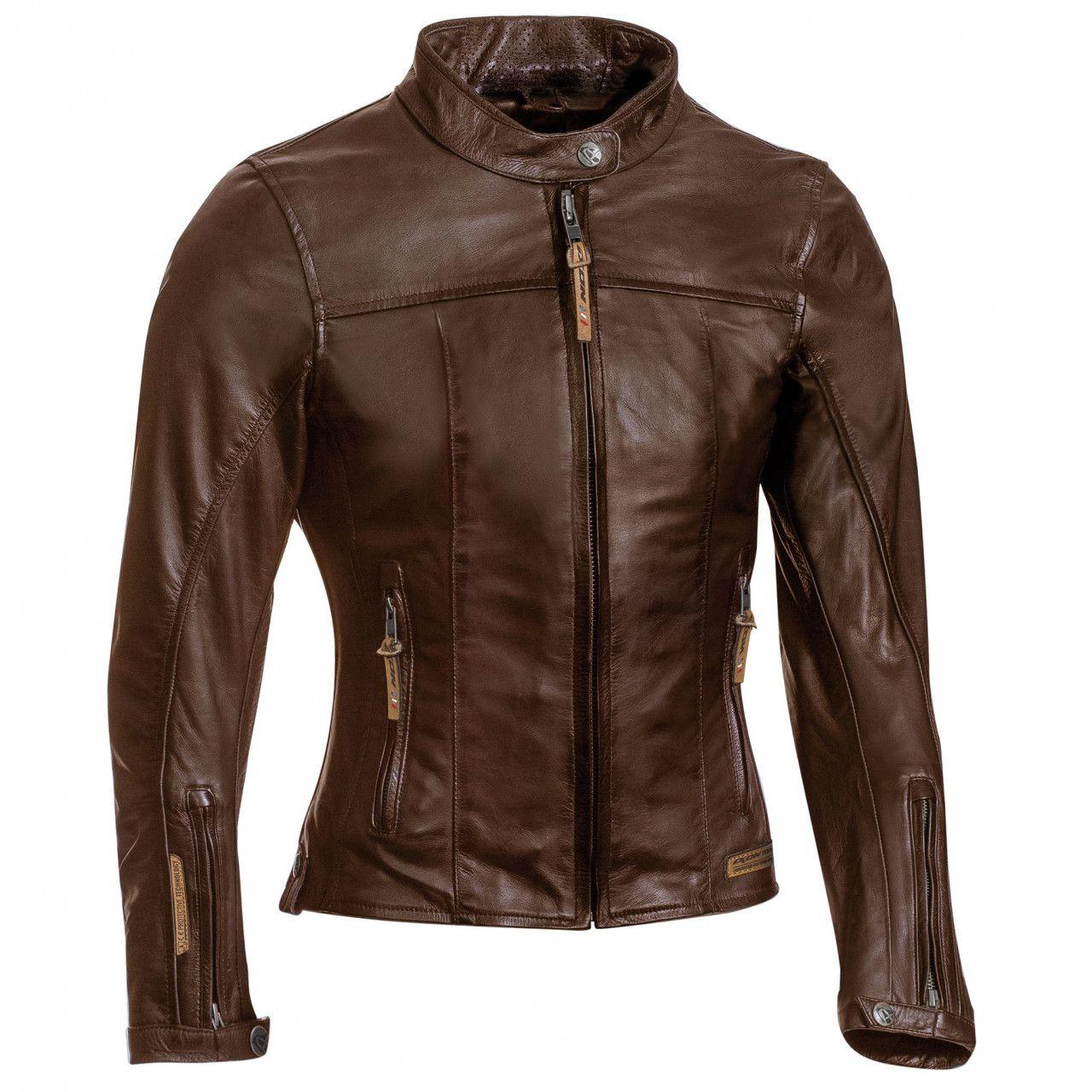 IXON Blouson moto femme cuir Crank Lady