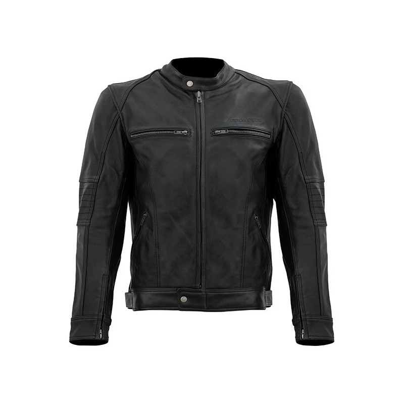 SLINE Blouson moto homme cuir Vintage