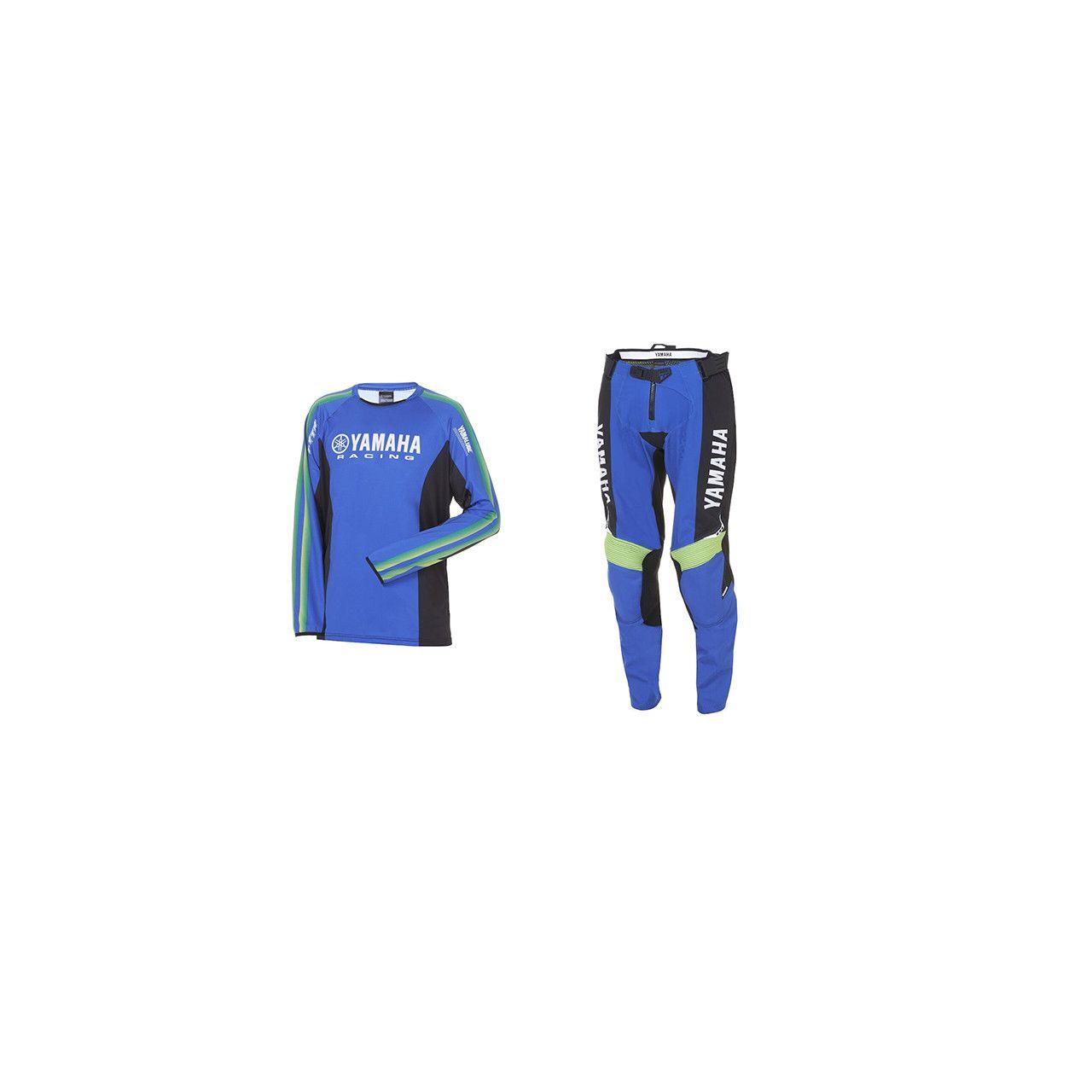 YAMAHA Pack MX adulte pantalon + maillot