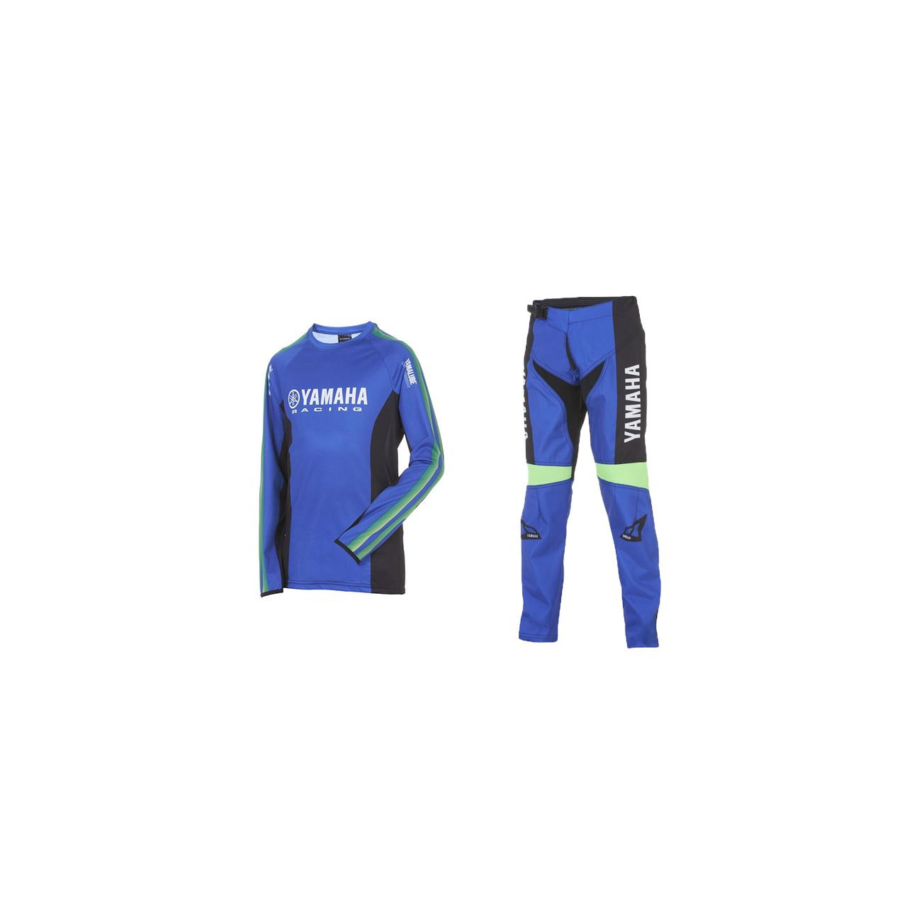 YAMAHA Pack MX junior maillot + pantalon