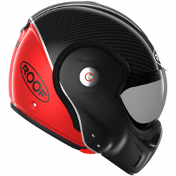 Casque RO9 Boxxer Carbon Rouge
