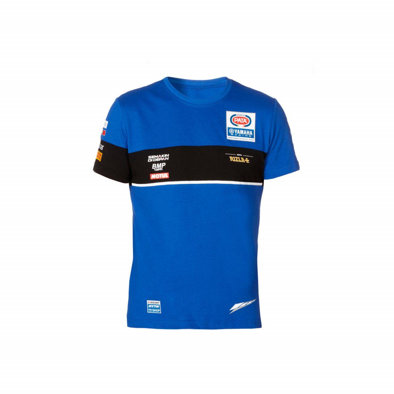 YAMAHA T-shirt officiel homme de l'équipe Pata en WorldSBK 2020