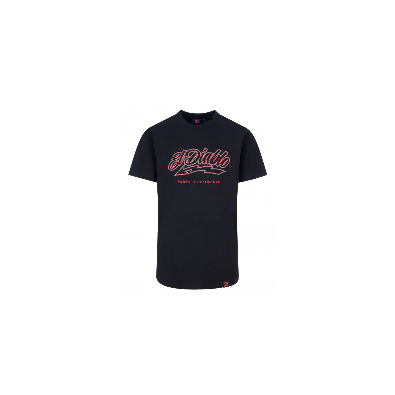 Quartararo T-shirt long homme Fabio Quartararo Red Stripe