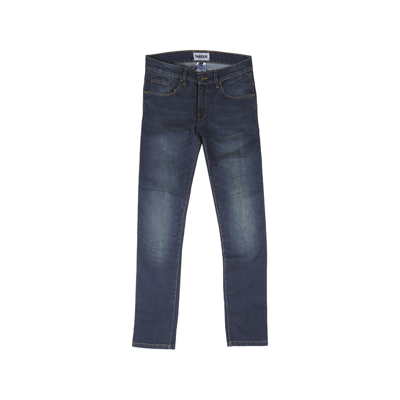 HELSTONS Jean moto homme Midwest coton armalith