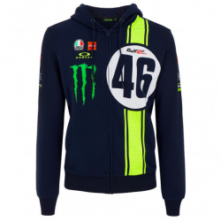 Sweat à capuche adulte VR46...