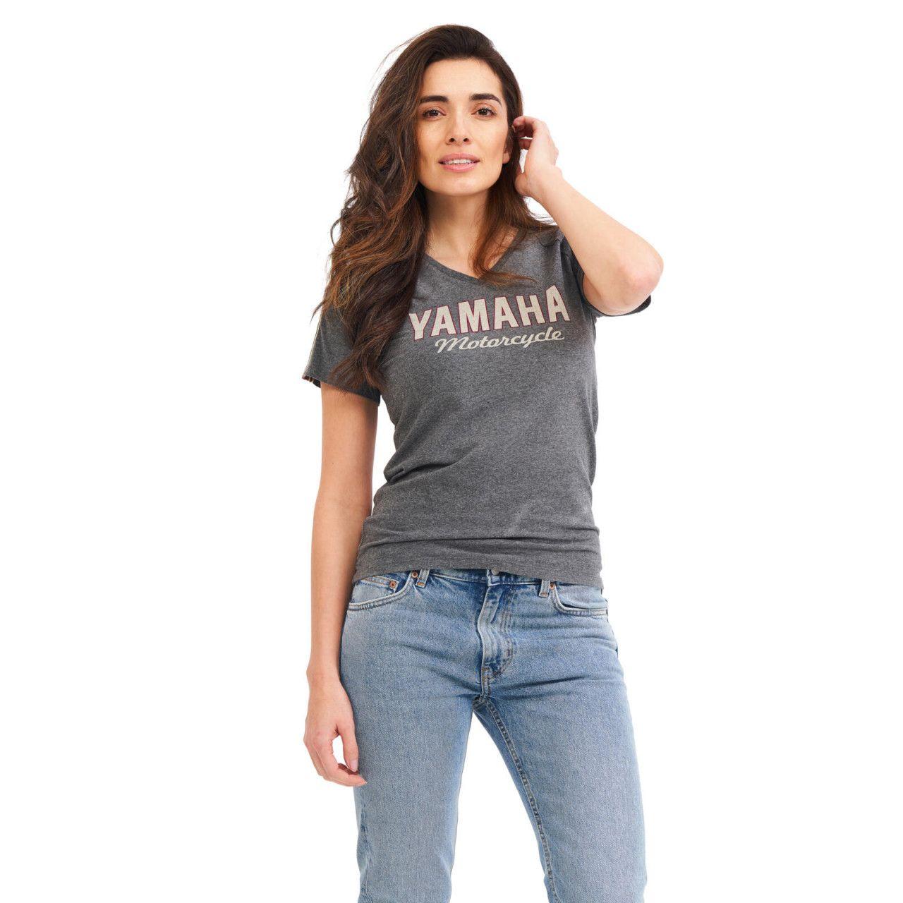 YAMAHA T-shirt femme Faster Sons gris 2021