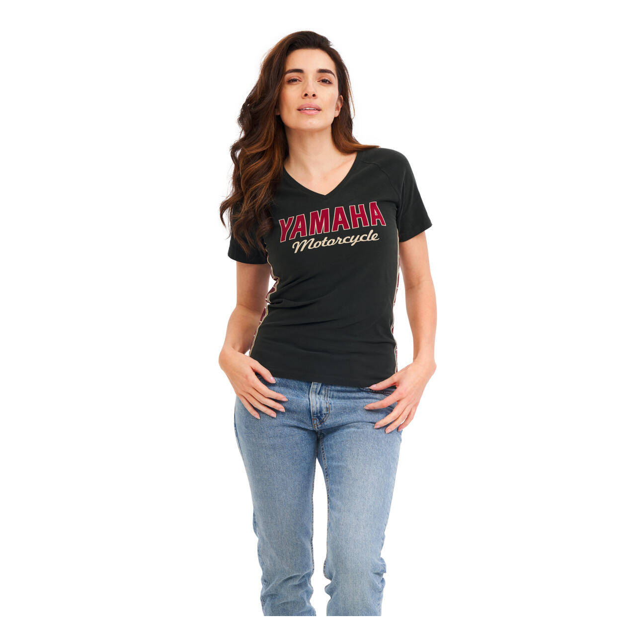 YAMAHA T-shirt femme Faster Sons noir 2021