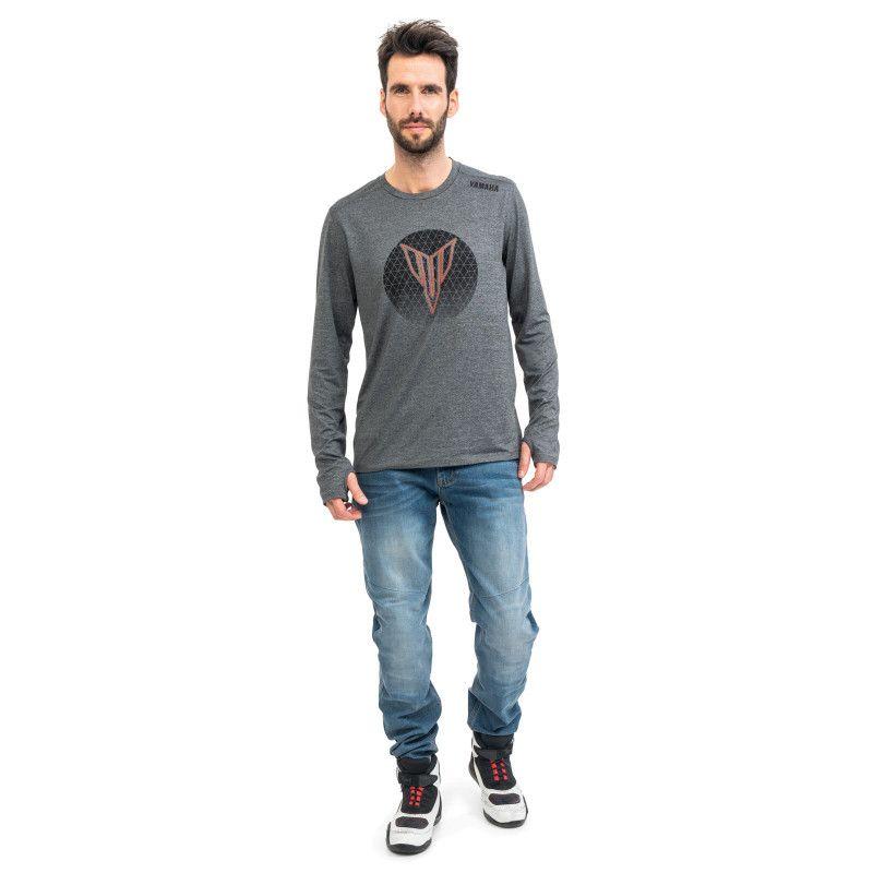 YAMAHA T-shirt manches longues homme MT 2021