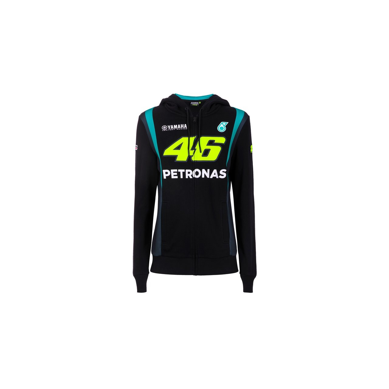 YAMAHA Sweat Zippé Femme Petronas Team VR46 2021