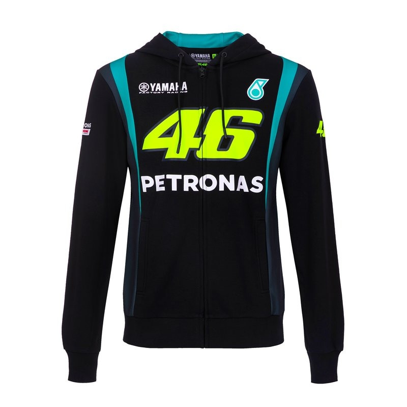 YAMAHA Sweat Zippé Homme Petronas Team VR46 2021