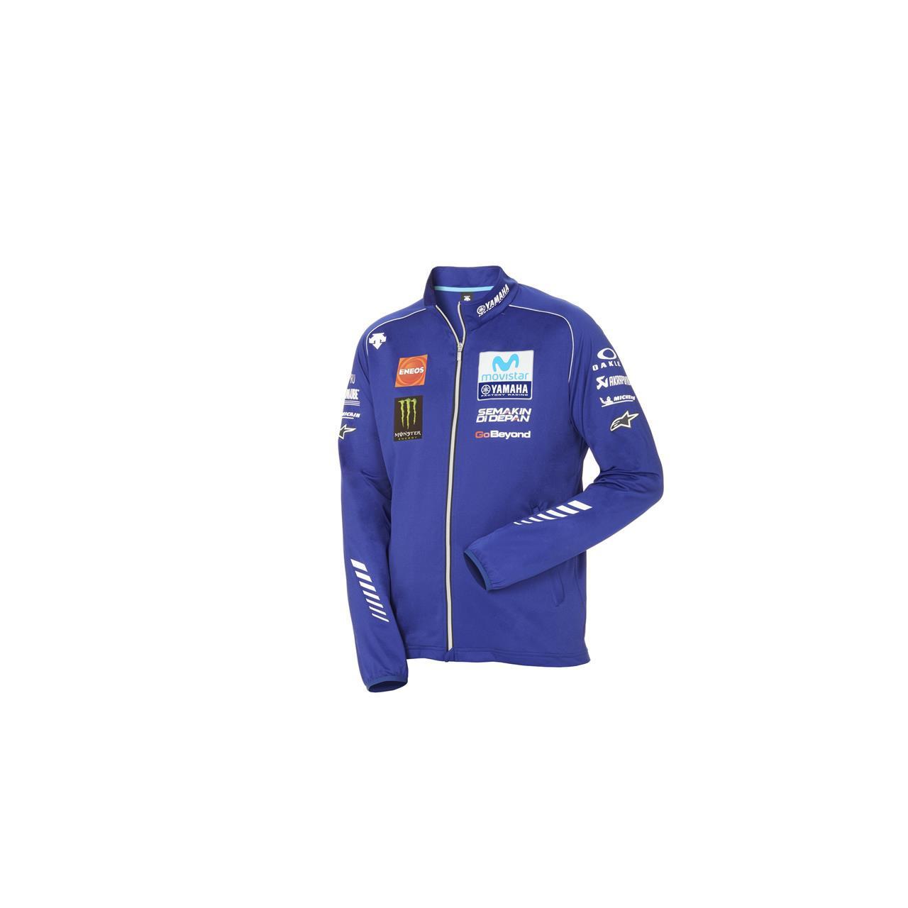 YAMAHA Veste zippée homme officielle MotoGP 2018