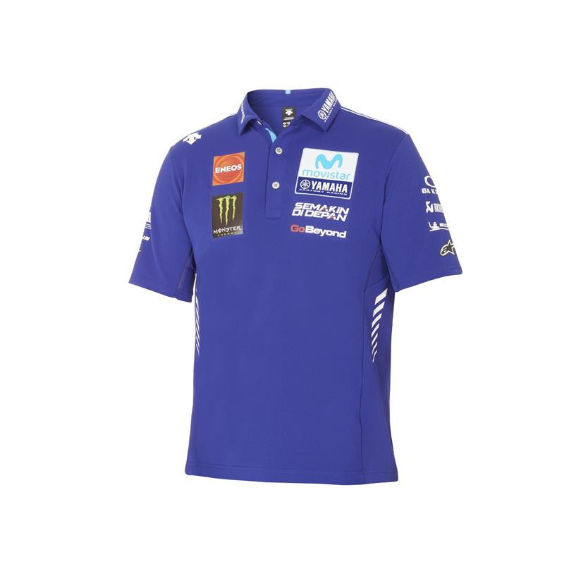 YAMAHA Polo officiel homme MotoGP 2018