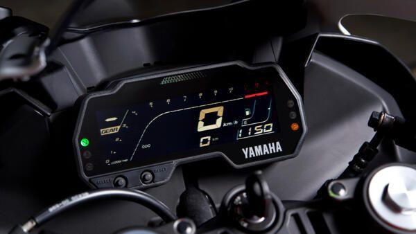 Yamaha R125 world GP LCD