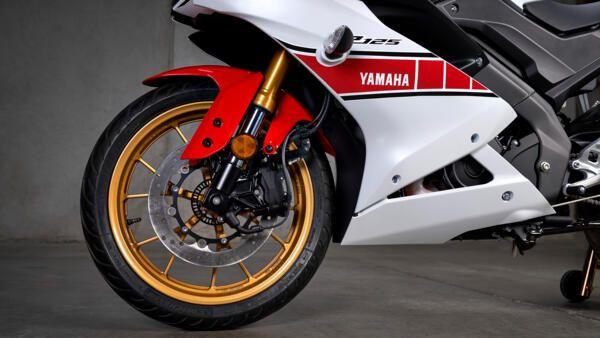 Yamaha R125 world GP cadre