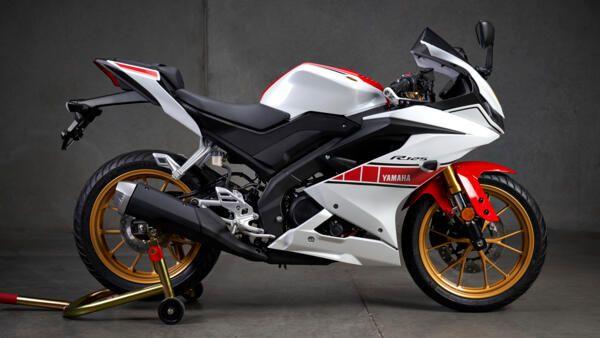 Yamaha R125 world GP coloris