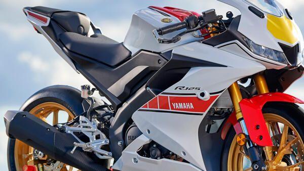 Yamaha R125 world GP combustion