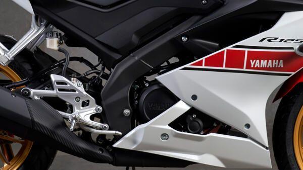 Yamaha R125 world GP moteur