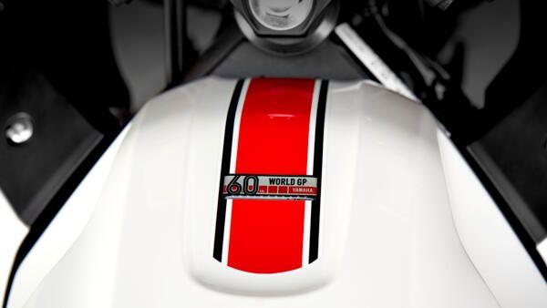 Yamaha R3 World GP 2022 coloris