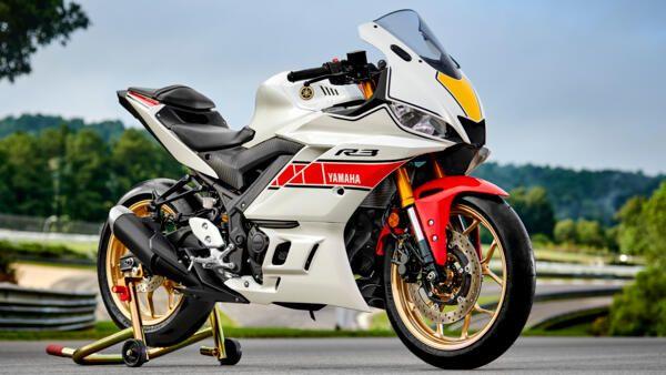 Yamaha R3 World GP 2022 poids