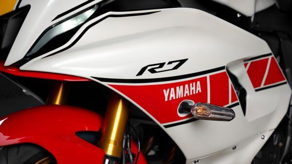 Yamaha R7 world GP coloris