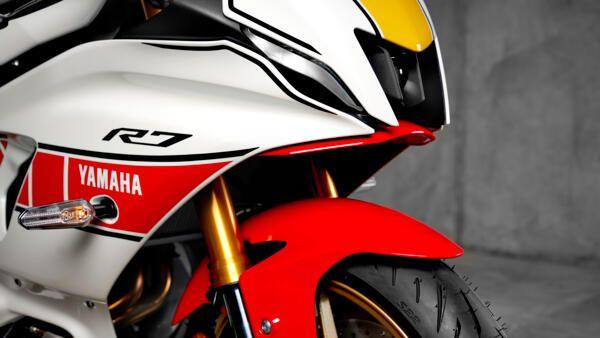 Yamaha R7 world GP design