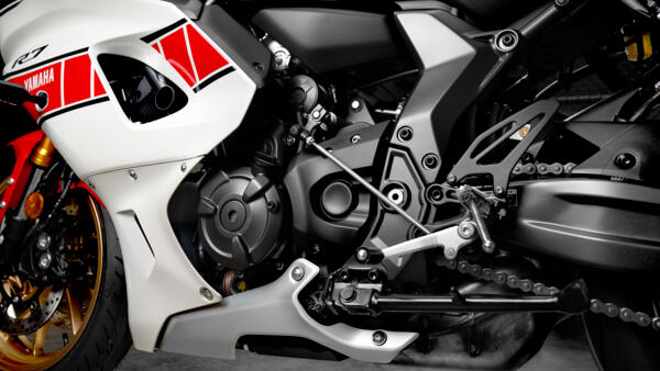 Yamaha R7 world GP moteur