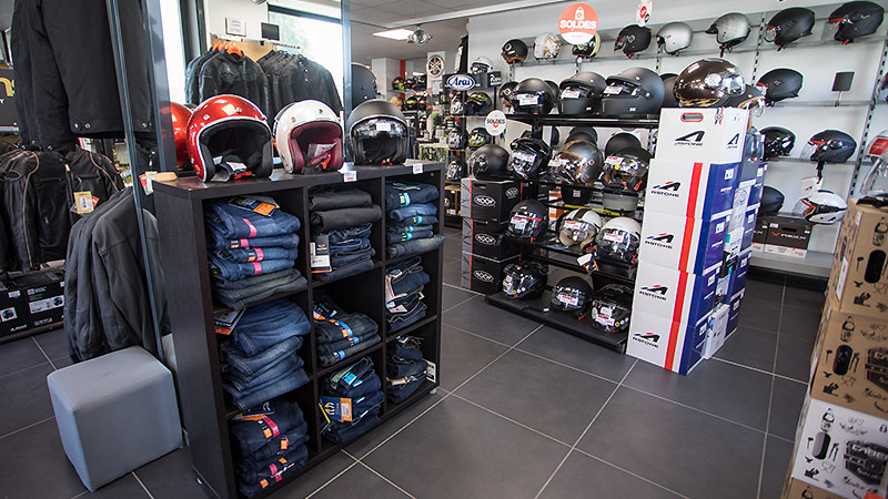 La boutique du motard